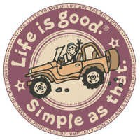 Life is Good Simple as That Decal