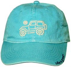 Life is good Womens Chill Cap Native Offroad - Aqua Blue
