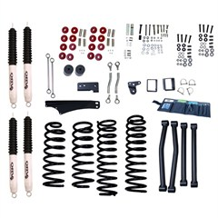 Lift Kit, Rugged Ridge Orv, JK (2007-2009) 2-Door 5 Inch, JK (2007-2014) 4-Door 4 Inch With Shocks