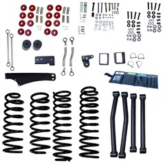 Lift Kit Without Shocks, Rugged Ridge, JK (2007-2009) 2-Door 5 Inch, JK (2007-2014) 4-Door 4 Inch