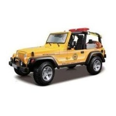 Maisto Jeep Wrangler Rubicon Brush Fire Unit  (Fire Truck) 1:18 Scale