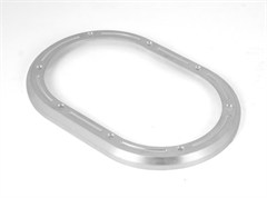 Manual Transmission Stainless Steel Shifter Bezel, Rugged Ridge, (2007-2010) Jeep Wrangler, Brushed Billet Aluminum