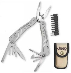 Jeep Stainless Steel Multi-Tool with 20 functions