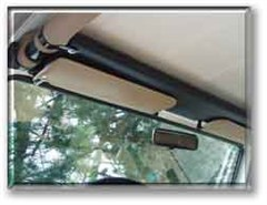 MISCH 4x4 Over Head Shelf for YJ,TJ, LJ, JK, Wranglers