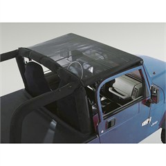 Mesh Header Summer Brief for Jeep Wrangler TJ (1997-2006) and LJ (2004-2006)