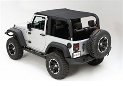 Mesh Island Topper - Jeep Wrangler JK 4-Door (2010-2014), Black