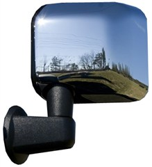 Mirror Covers, Rugged Ridge, JK (2007-2015), Pair, Chrome
