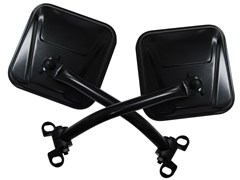 Black Mirror Kit for Jeep CJ and Wrangler YJ (1976-1995)