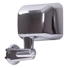 Side Mirror Wrangler JK 2007-2017 Driver Side Chrome Rugged Ridge