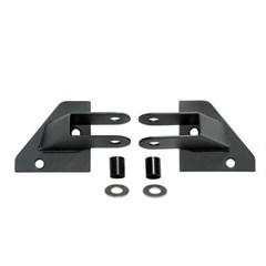 Mirror Relocation Brackets, Jeep YJ (1987-1995), Black