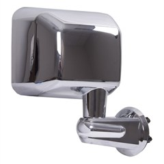 Mirror Rh, Jeep Wrangler JK (2007-2015), Chrome