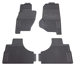 Front & Rear Slush Mat Kit for Jeep Liberty 2002-2007 by Mopar