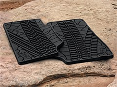 MOPAR� Jeep Front Slush Mats with Tire Tread Pattern for 2007-2013 Jeep� Wrangler JK
