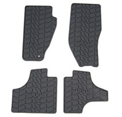 Mopar 4 Piece Slush Mats for Jeep Liberty 2008-2010