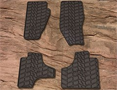 Mopar 4 Piece Slush Mats for Jeep Liberty 2011-2012, Slate Grey