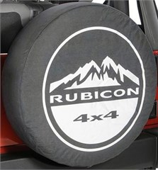"Jeep Tire Cover, ""Rubicon 4x4 Mountain"", by Mopar"
