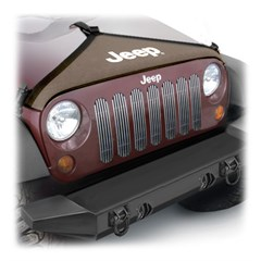Hood Bra for Jeep Wrangler JK 2007-2017 by Mopar