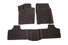 Mopar Front & Rear Slush Mats for 2011-2012 Jeep Grand Cherokee, Dark Slate Grey