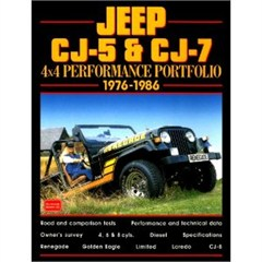 Jeep CJ5 & CJ6 1976-1986 Performance Portfolio