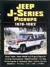 Jeep J-Series Pickup 1970-1982 Performance Portfolio
