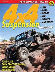 4X4 Suspension Handbook, by Trenton McGee Soft Cover Book