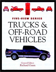 Trucks & Off-Road Vehicles Hard Cover Book