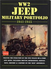 WW2 Jeep Military Portfolio 1941/45 Soft Cover Book