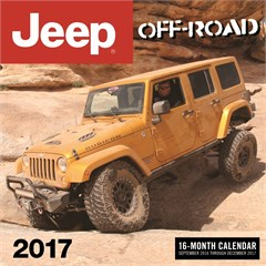 Jeep Off-Road 2016, 12 Month Wall Calendar