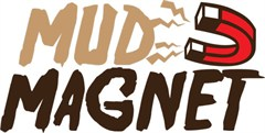 """MUD MAGNET"" Brown Decal"