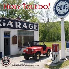 """Jeep Classics """"Holy Toledo!"""" Slot Grill Classics 2015 Calendar"""