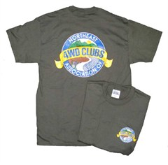 Northeast Association of 4WD Clubs Men's Tee-Shirt