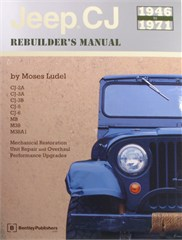 Jeep CJ Rebuilder's Manual 1946 to 1971