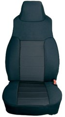 Pair of Front Neoprene Seat Covers for Jeep Wrangler YJ (1991-1995)