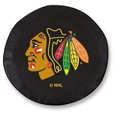 Chicago Blackhawks Tire Cover