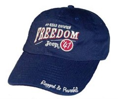 Jeep Freedom Jeep 41 Hat  (Navy)
