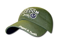 Jeep Freedom Jeep 41 Hat  (Sage Green)