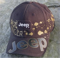 Jeep Mudslinger Patch Baseball Cap, Dark Brown