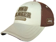 Jeep Mudslinger University Hat, Dark Brown/Khaki