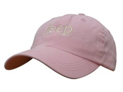 Jeep® Washed Hat (Pink)