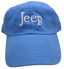 Jeep� Washed Hat  - Blue
