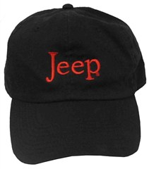 Jeep� Washed Hat (Black)