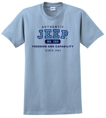 Authentic Jeep� T-Shirt - Powder Blue
