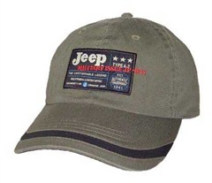 Jeep� Military Issue Hat (Olive)