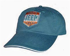 """Jeep Property"" Hat, Est. 41 W-11, Blue Denim"
