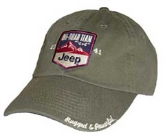 Jeep� Hat: Off-Road Team in Sage Green