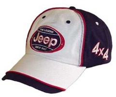 Jeep® 4 x 4 Legend Hat (Red/White/Blue)