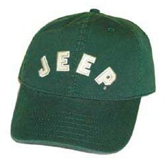 Jeep� Collegiate Baseball Hat (Green) - CLOSEOUT