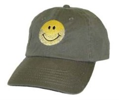 Jeep� Bearded Smiley Face Baseball Cap