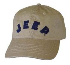 Jeep� Collegiate Cap - Khaki