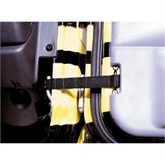 Adjustable Door Straps for Jeep Wrangler CJ (1955-1986), YJ (1987-1995) and TJ (1997-2006)